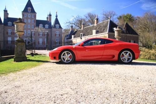 Ferrari Combi Rijden In Een F430 F1 En 360 Modena