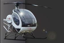 Vliegles in een helicopter