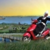Scootertocht in Noord Holland regio Amsterdam.