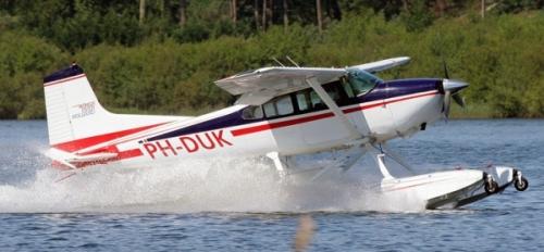 Vliegles Watervliegtuig Aparte Vliegles In Vliegtuig